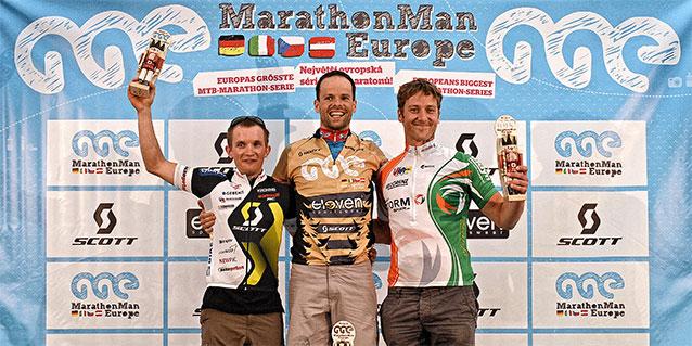 MarathonMan Serie 2012 Siegerehrung Seiffen