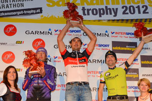 Bart Brentjens (NED), Ondrej Fojtik (CZE), Max Friedrich (GER) - Sieger Salzkammergut Trophy 2012 (Foto: Reitbauer Gerhard)