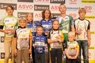 Siegerehrung Junior Trophy