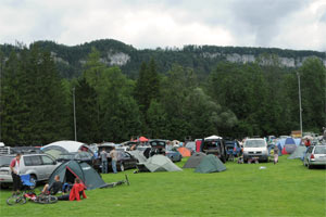 Bike Camp am Fu�ballplatz (Foto: Rudi Knoll)