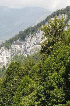 Rathlucka Hütte - Blick auf die Ewige Wand  (Foto: Lars Eberhart - Salzkammergut Trophy)