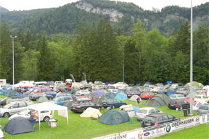 Bike Camp am Fußballplatz (Foto: Rudi Knoll)