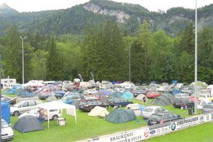 Bike Camp am Fußballplatz (Foto: SV Bad Goisern)