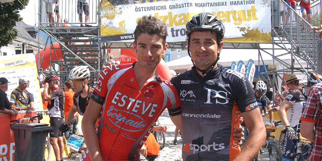 Luís Leão Pinto und Ondrej Fojtik Sieger Salzkammergut Trophy 2013 (Foto: Bettina Ravanelli)
