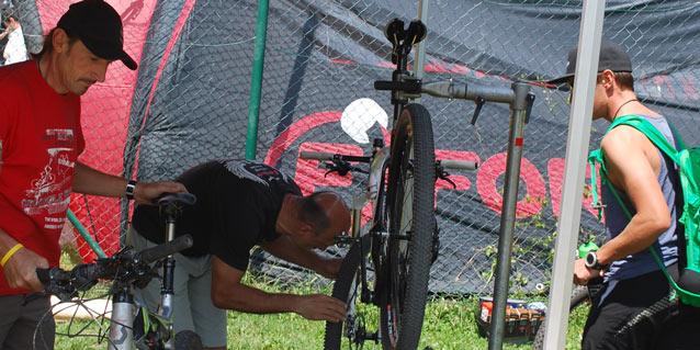 Trophy Bike Check (Foto: Flurin Gadola)