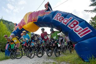 Salzkammergut Trophy 2013 - Start Unicycle Downhill (Foto: Martin Bihounek)