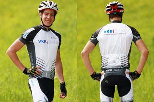 Radbekleidung der VKB-Bank