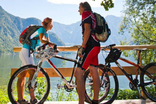 Bikeherbst in der Dachstein Salzkammergut Region