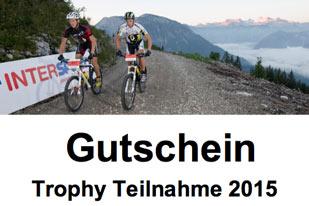 Gutschein Trophy Teilnahme 2015