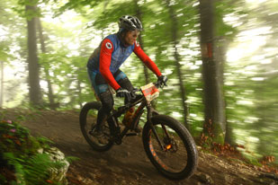 B�ttcher Mike (GER) - Salzkammergut Trophy 2014 - Strecke A - Fatbike (Foto: sportograf.de)