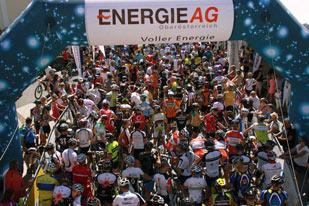 Startaufstellung Salzkammergut Trophy 2015 - Strecke E (Foto: Kurt Reiter)