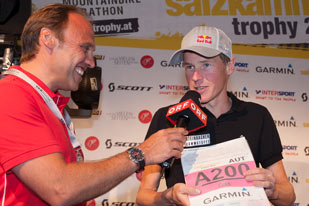 Salzkammergut Trophy - Andi Goldberger im Interview mit Adi Niederkorn (Foto: Martin Bihounek)