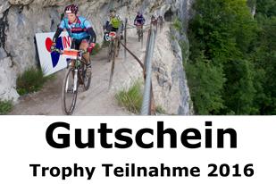 Gutschein Trophy Teilnahme 2016