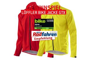 Gewinnspiel L�ffler Bike Jacke GTX