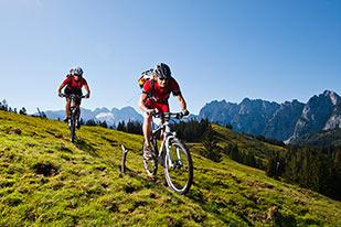 Titelblatt Mountainbiken 2016 - (Foto:O� Tourismus)