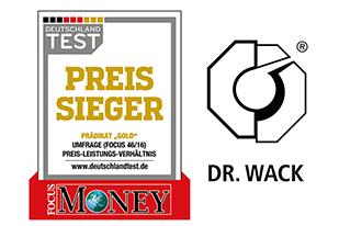 Dr.Wack Testsieger 2016
