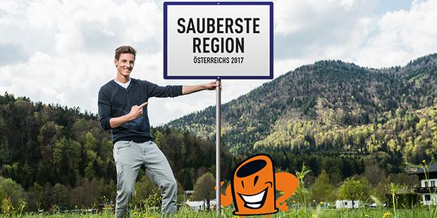 Anzeige ARA - Sauberste Region Österreichs