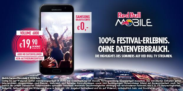 Anzeige Red Bull Mobile