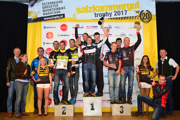 Salzkammergut Trophy 2017 - Teamwertung Strecke C (Foto: Joachim Gamsjäger)