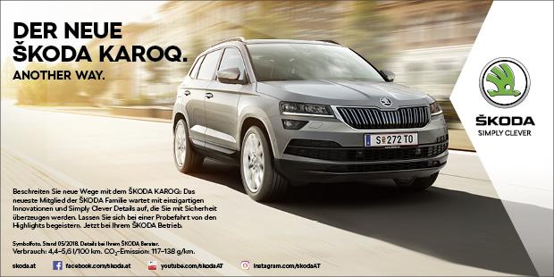 Der neue Škoda Karoq