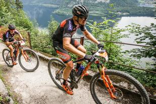 Manuel Pliem (AUT) und Roger Jenny (SUI) - Sieger Salzkammergut Trophy 2018 - Strecke B (Foto: sportograf)