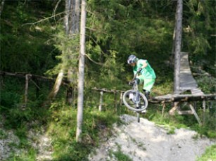 Foto auf Bike Park