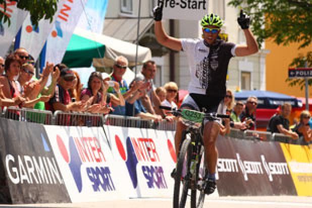 László Záray (HUN) - Sieger Salzkammergut Trophy 2013 - Strecke G (Foto: sportograf.de)