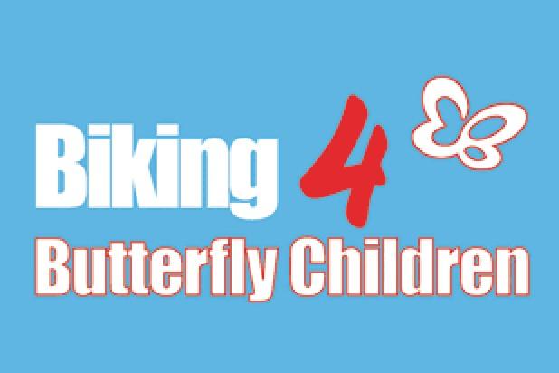 Logo Schmetterlingskinder Biking 4 Butterfly