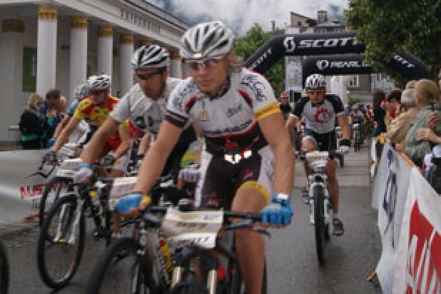 Start Salzkammergut Trophy Strecke D (Foto: Sigi Lemmerer)