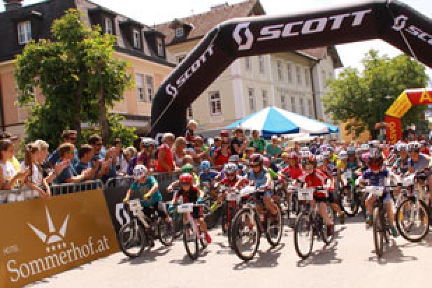 Salzkammergut Trophy 2015 - Start U9 - SCOTT Junior Trophy (Foto: Kurt Reiter)