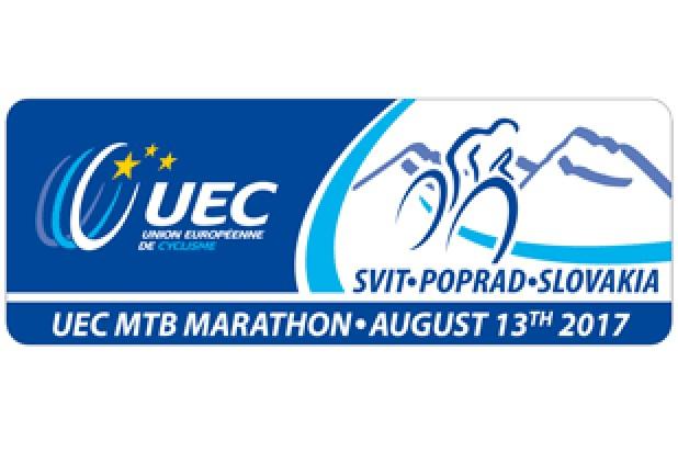 Logo UEC Elite- und Masters-Europameisterschaften