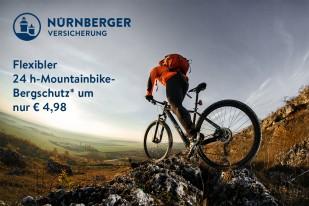 Garanta Mountainbike-Bergschutz-Versicherung
