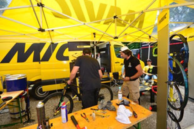 Mavic Technik-Service (Foto: Joachim Gamsjäger)