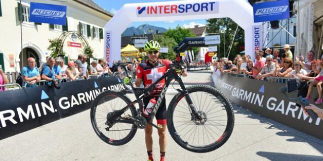 Konny Looser (SUI) - Sieger Salzkammergut Trophy 2018 - Strecke A (Foto: Joachim Gamsjäger)