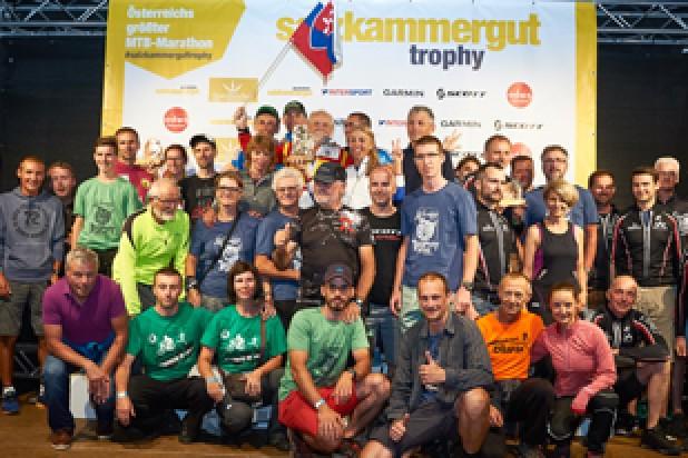 Siegerehrung Salzkammergut Trophy Slowmotion Wertung 2018 (Foto: Martin Bihounek)