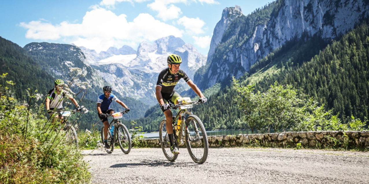 Paolo Paviolo (ITA) - 5. Platz Salzkammergut Trophy 2018 - M40 Strecke A (Foto: sportograf.de)
