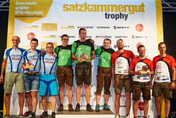 Teamwertung Sieger 2018 (Foto: Martin Bihounek)