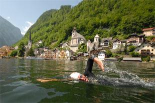 Hallstättersee-Schwimm-Marathon (Foto: Horst Viertbauer)