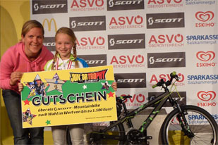 Siegerehrung ASVÖ SCOTT Junior Trophy Bad Goisern (Foto: Martin Huber)