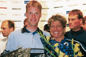 Gerrit Glomser und Claudia Titolo - Trophy Sieger 2000 (Foto: Salzkammergut Trophy 2000)