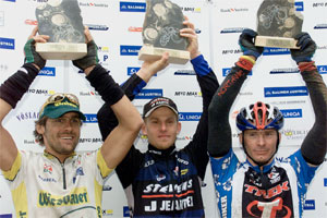 Wolfgang Fasching, Stefan Danowski, Thomas Widhalm - Trophy Sieger 2001 (Foto: Rubra - Salzkammergut Trophy)