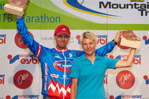 Stefan Kogler (AUT) und Andrea Huser (SUI) - Trophy Sieger 2006 (Foto: Lars Eberhart - Salzkammergut Trophy)