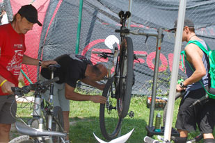 Trophy Bike Check (Foto: Flurin Gadola)