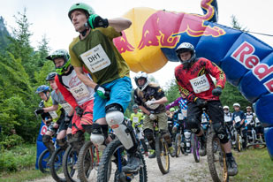 Salzkammergut Trophy 2014 - Start Unicycle Downhill (Foto: Martin Bihounek)