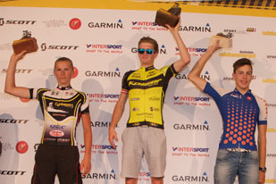 Siegerehrung Salzkammergut Trophy 2015 - Strecke F (Foto: Rudi Knoll)