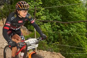 Sabine Sommer (AUT) - Siegerin Salzkammergut Trophy 2017 - Strecke A (Foto: Martin Bihounek)