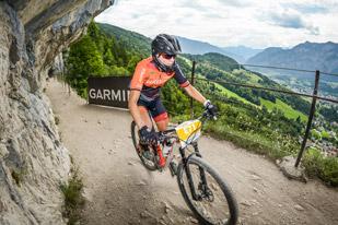 Rebecca Robisch (GER) - Siegerin Salzkammergut Trophy 2018 - Strecke E (Foto: sportograf.de)