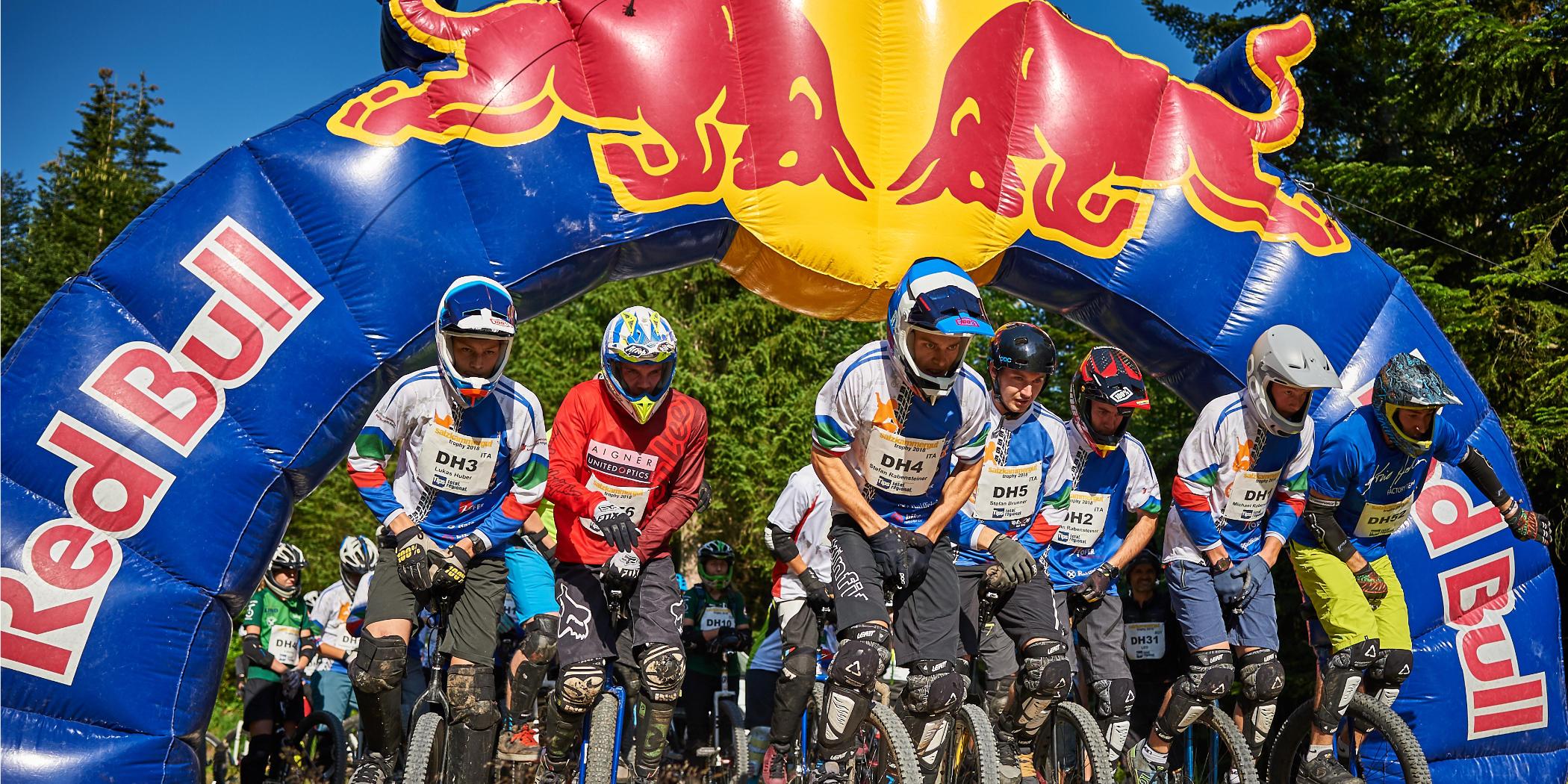 Salzkammergut Trophy - Einrad-Downhill Start (Foto: Martin Bihounek)