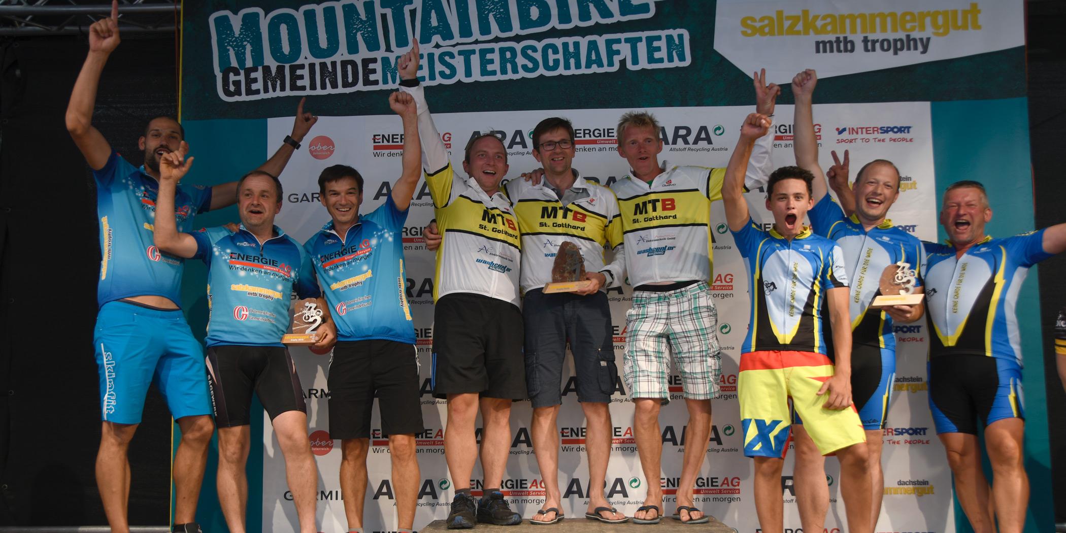 Sieger Salzkammergut Trophy 2018 - Gemeindemeisterschaften Strecke G (Foto: Rudi Knoll)