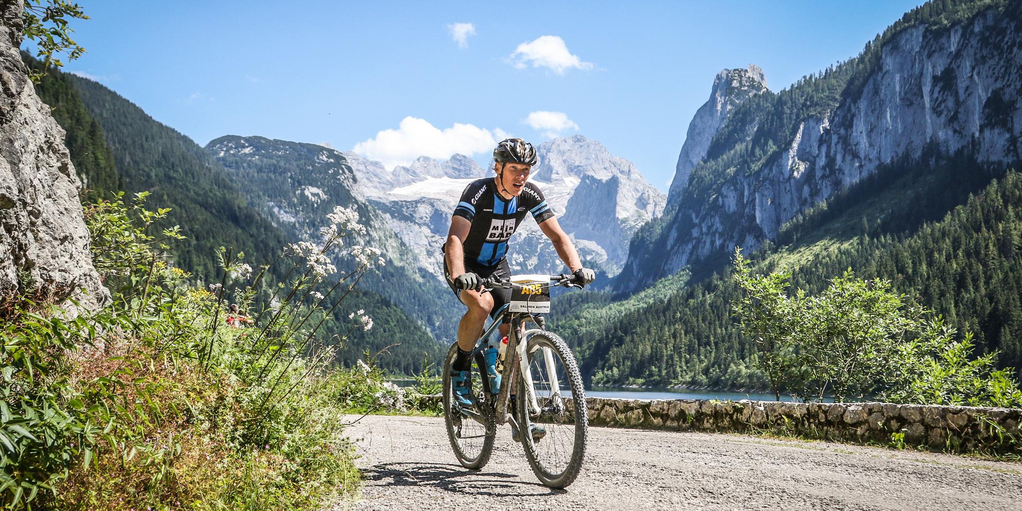Jan Weevers (NED) - Sieger Salzkammergut Trophy 2018 - M50 Strecke A (Foto: sportograf.de)